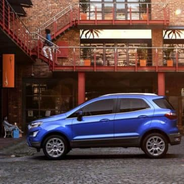 2018 Ford EcoSport SUV side view