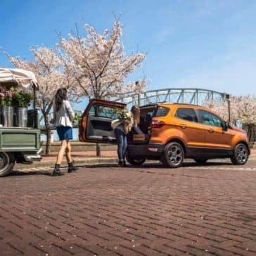 2018 Ford EcoSport SUV tailgate