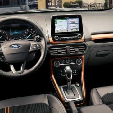 2018 Ford EcoSport SUV interior dashboard