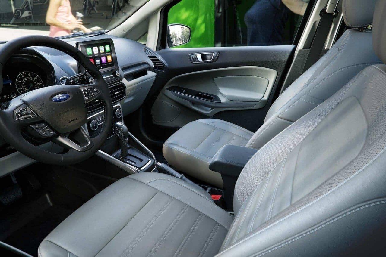 2018 Ford EcoSport SUV interior cabin