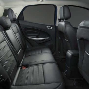 2018 Ford EcoSport SUV rear passenger seats