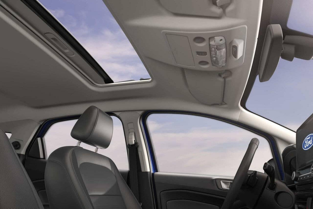 2018 Ford EcoSport SUV sunroof