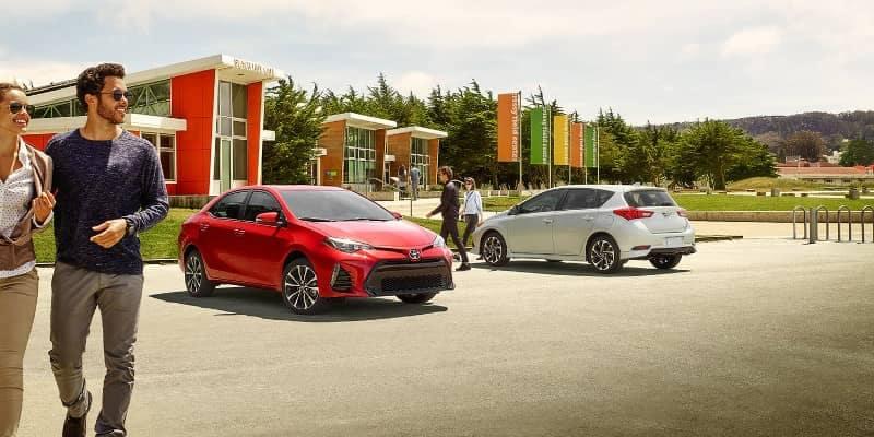 2018 Toyota Corolla XSE and Corolla iM
