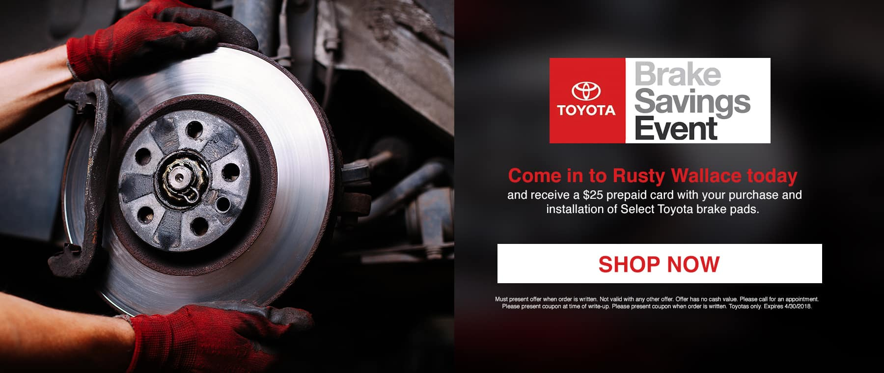 Toyota Brake Event March 2018