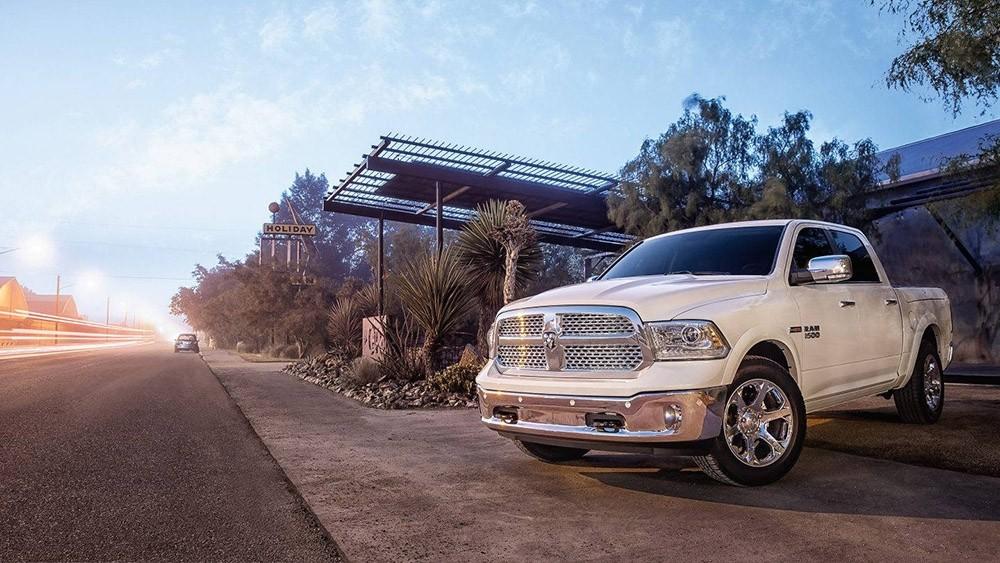 2017 Ram 1500 white exterior model