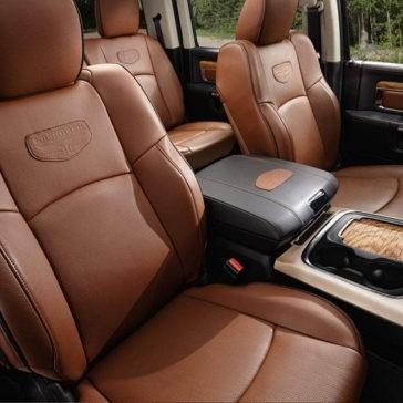 2017 Ram 1500 front interior
