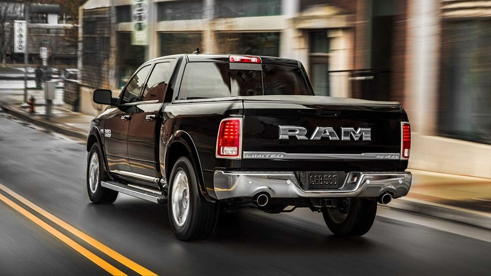 2017 Ram 1500 rear view