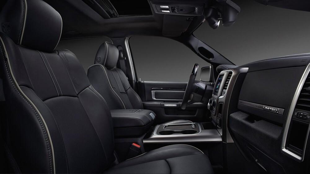 2017 Ram 2500 front interior
