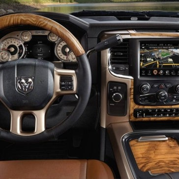2017 Ram 2500 front interior features