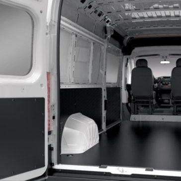 2017 Ram ProMaster interior cargo area