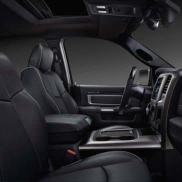 2018 RAM 2500 front interior