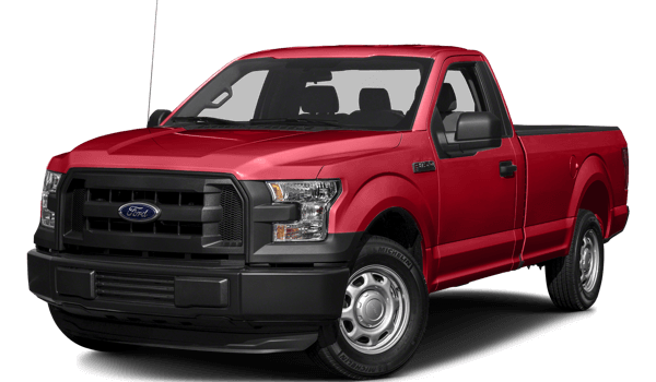 2017 Ford F-150 white background