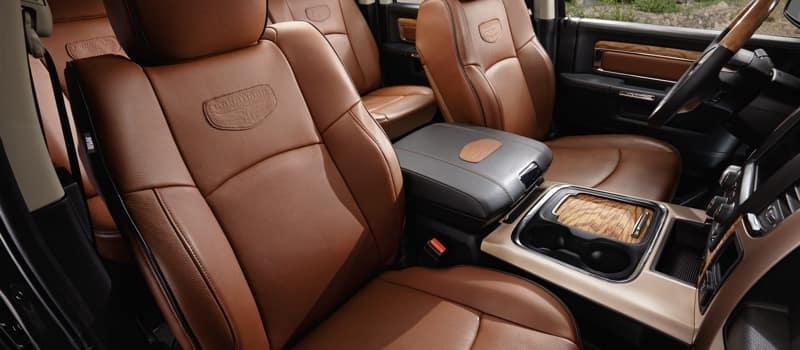 2018 Ram 1500 front interior seats