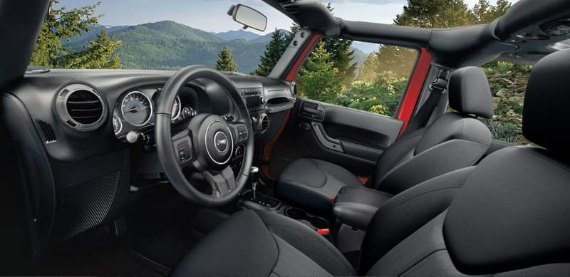 2017 Jeep Wrangler Unlimited Interior Features