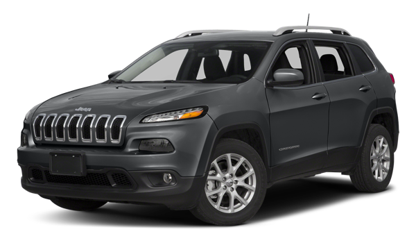 2018 Jeep Cherokee white background