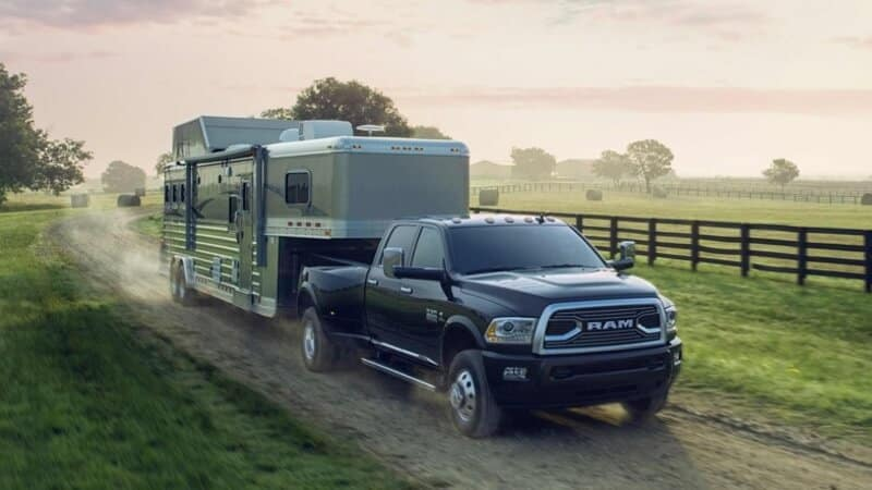 2018 RAM 3500 towing capabilities