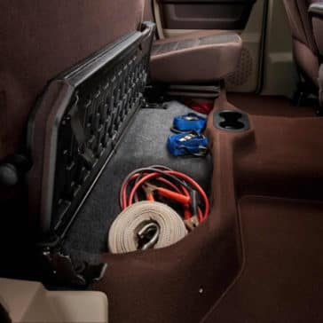 2018 RAM 3500 storage space