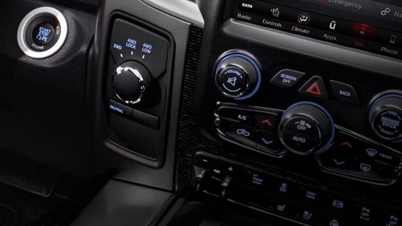 2018 RAM 3500 interior
