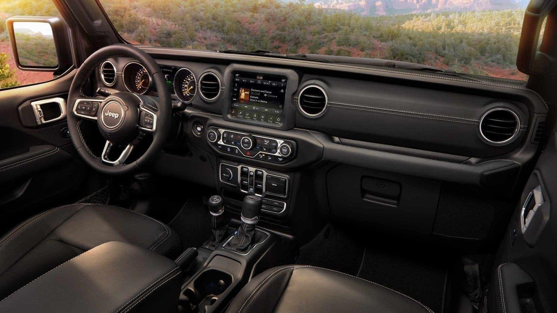 2018 Jeep Wrangler front interior
