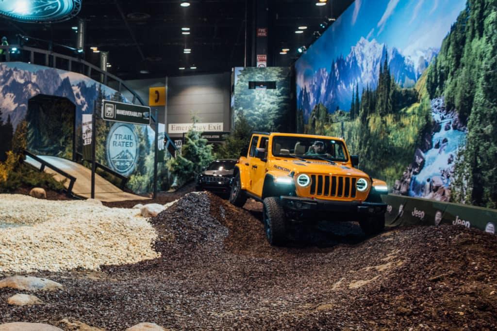 Chicago Auto Show Chrysler Jeep Dodge Ram Scott Evans CJDR - Dodge car show 2018