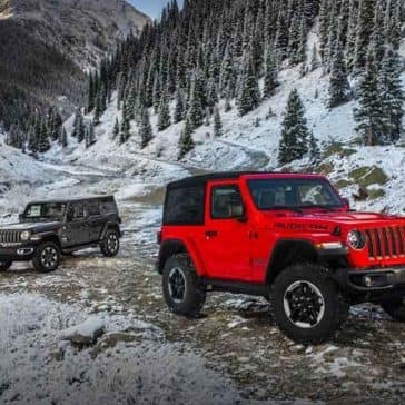 2018 Jeep Wrangler red exterior