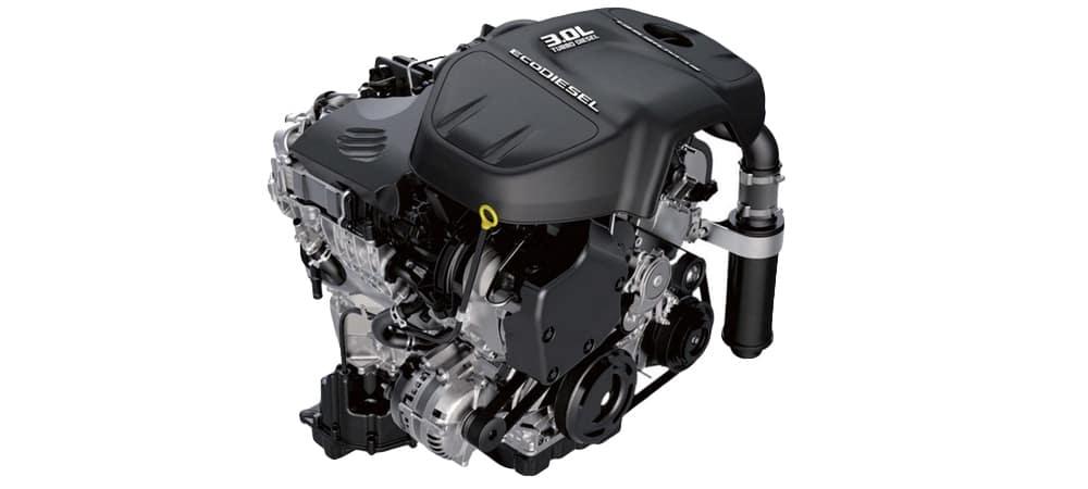 2018 RAM 1500 3.0L ECODIESEL V6 ENGINE