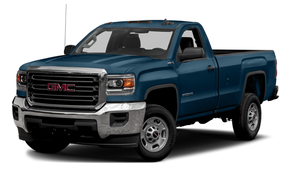 2018 GMC Sierra 2500HD white background