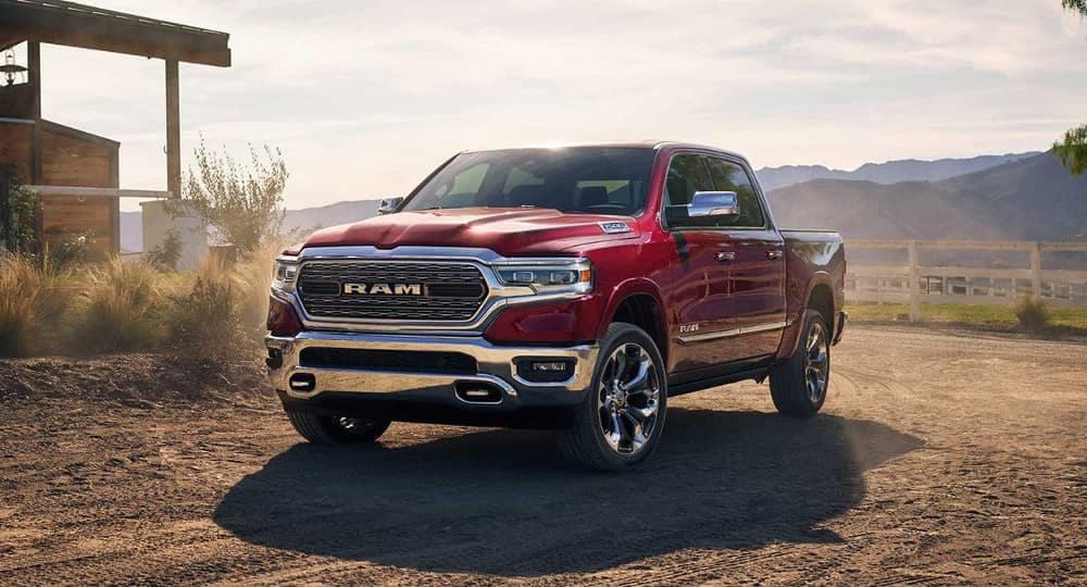 2019 Ram 1500 red exterior