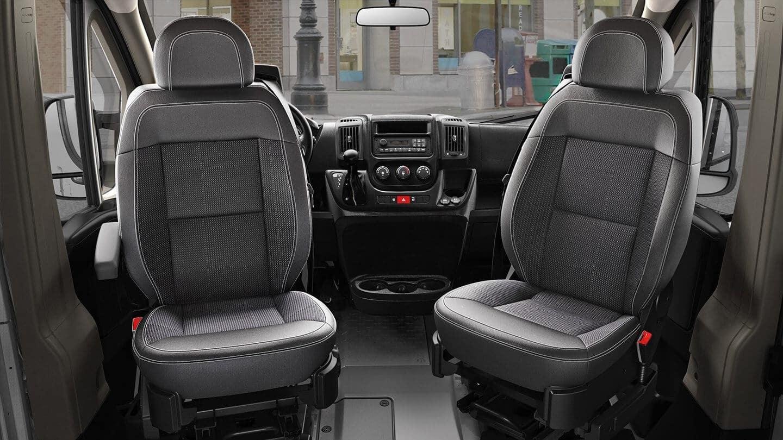 2018 RAM ProMaster front interior