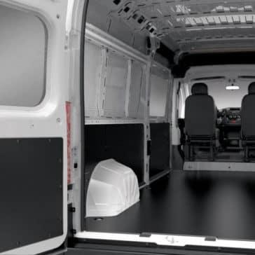 2018 RAM ProMaster interior