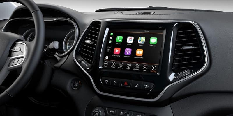 2019 Jeep Cherokee Apple CarPlay