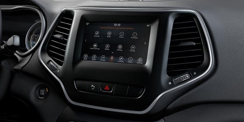 2019 Jeep Cherokee Uconnect Screen