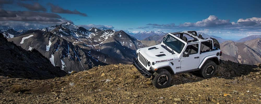2018 Jeep Wrangler On Mountain