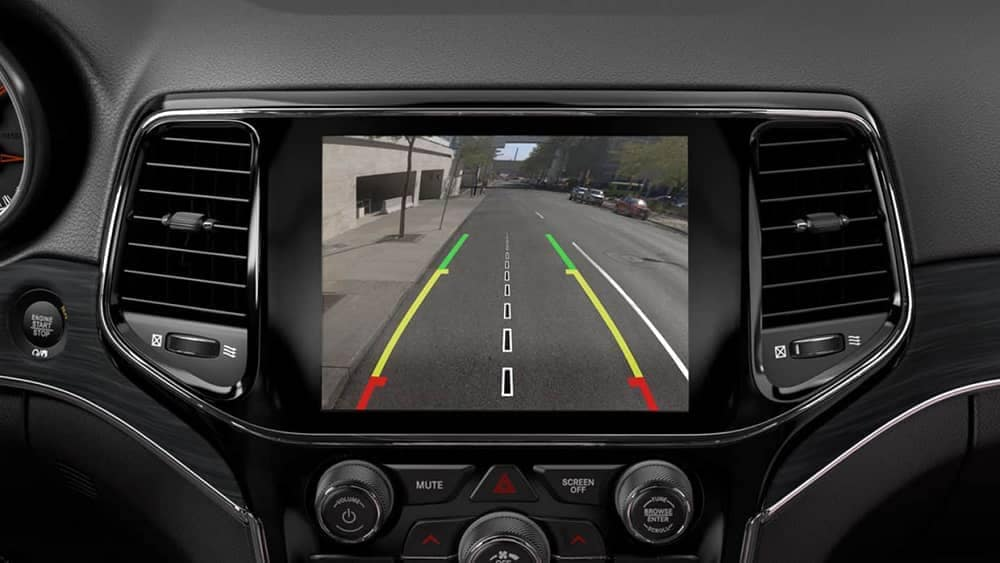 2019 Jeep Grand Cherokee safety features