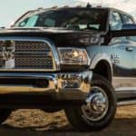 2018 RAM 3500 Laramie Longhorn Duallie in black
