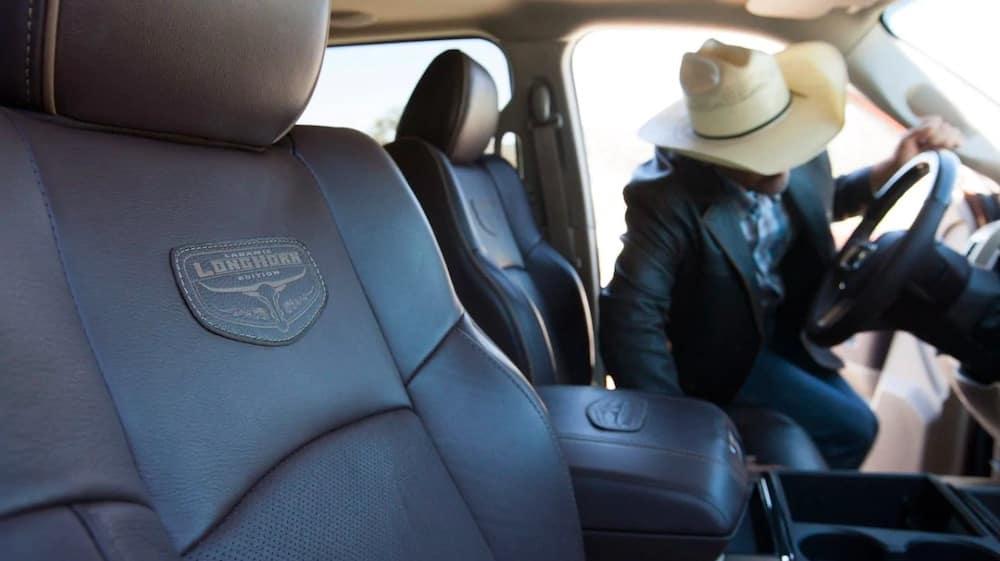 2018 RAM 3500 Laramie Longhorn interior
