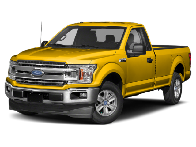 2019 Ford F-150 in yellow