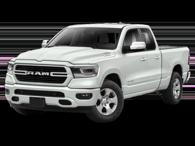 2019 RAM 1500 in white