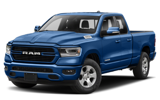 2019 All-New RAM 1500 in blue