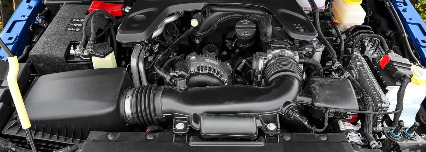 2020 Jeep Wrangler Engine Showing Genuine Mopar OEM Parts