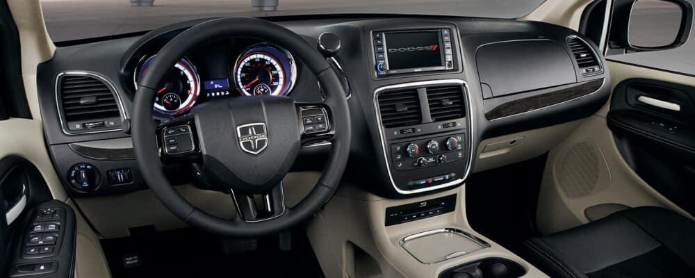2020 Grand Caravan interior features