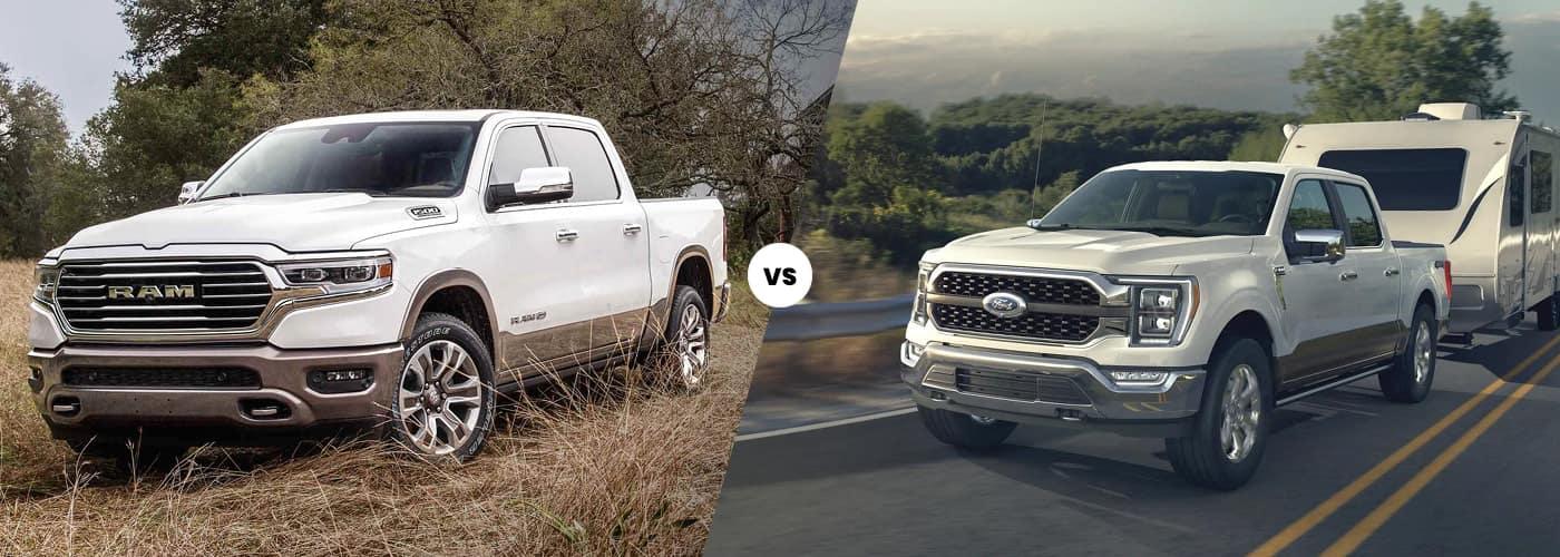 2021 Ram 1500 vs 2021 Ford F-150 Comparison