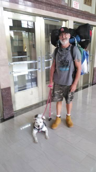 Helping a Special Man and His Beloved Dog