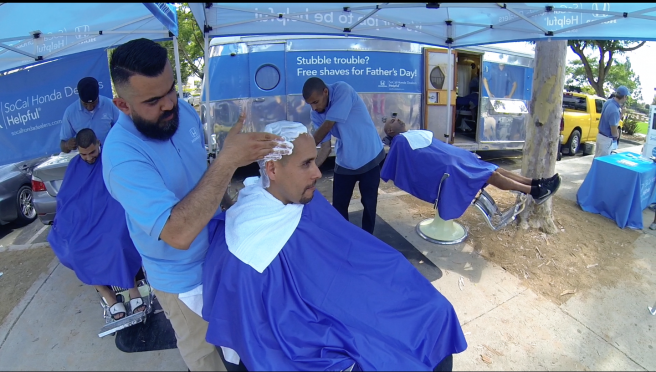 Free Shaves for Father's Day