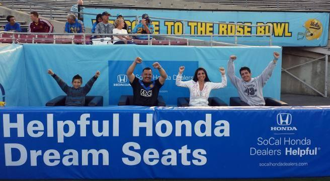 SoCal Honda meets SoCal Football