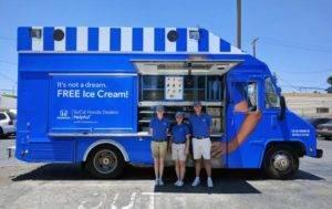It's Not a Dream. FREE Ice Cream!