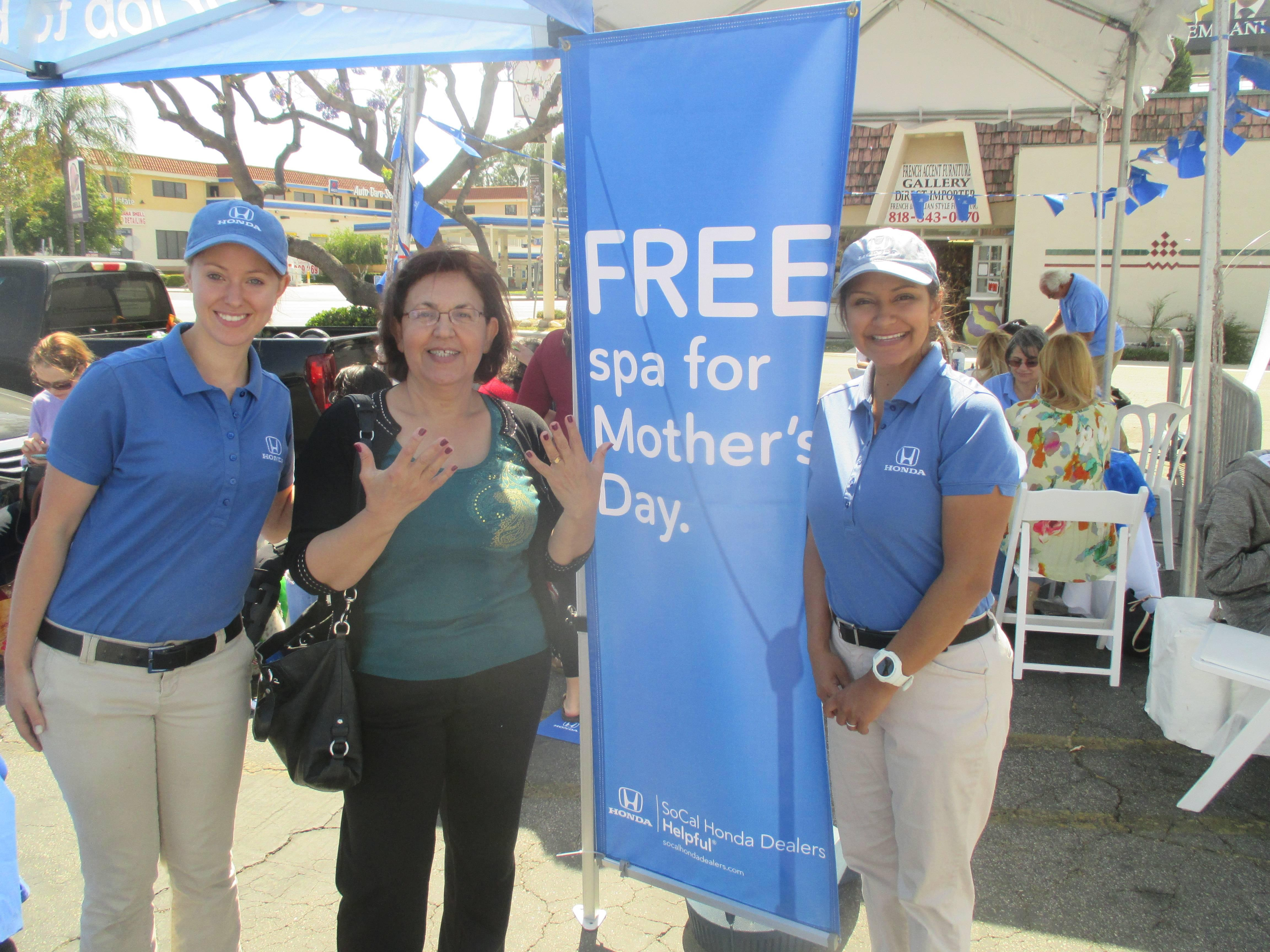 Helping Moms Relax For Motheru0027s Day | Southern California Honda Dealers  Association
