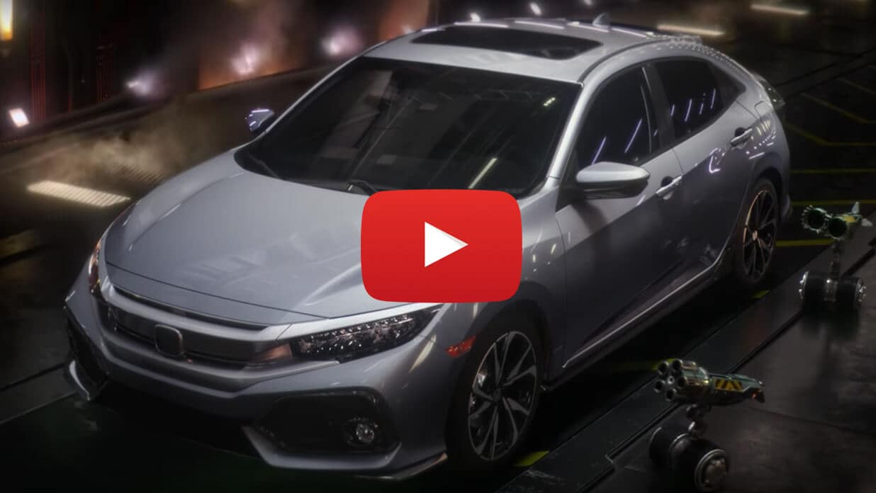 2018 Honda Civic Hatchback Video Still