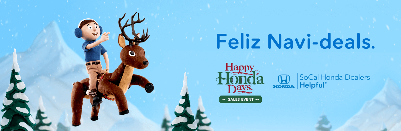 Happy Honda Days Sales Event SoCal Honda Dealers Banner