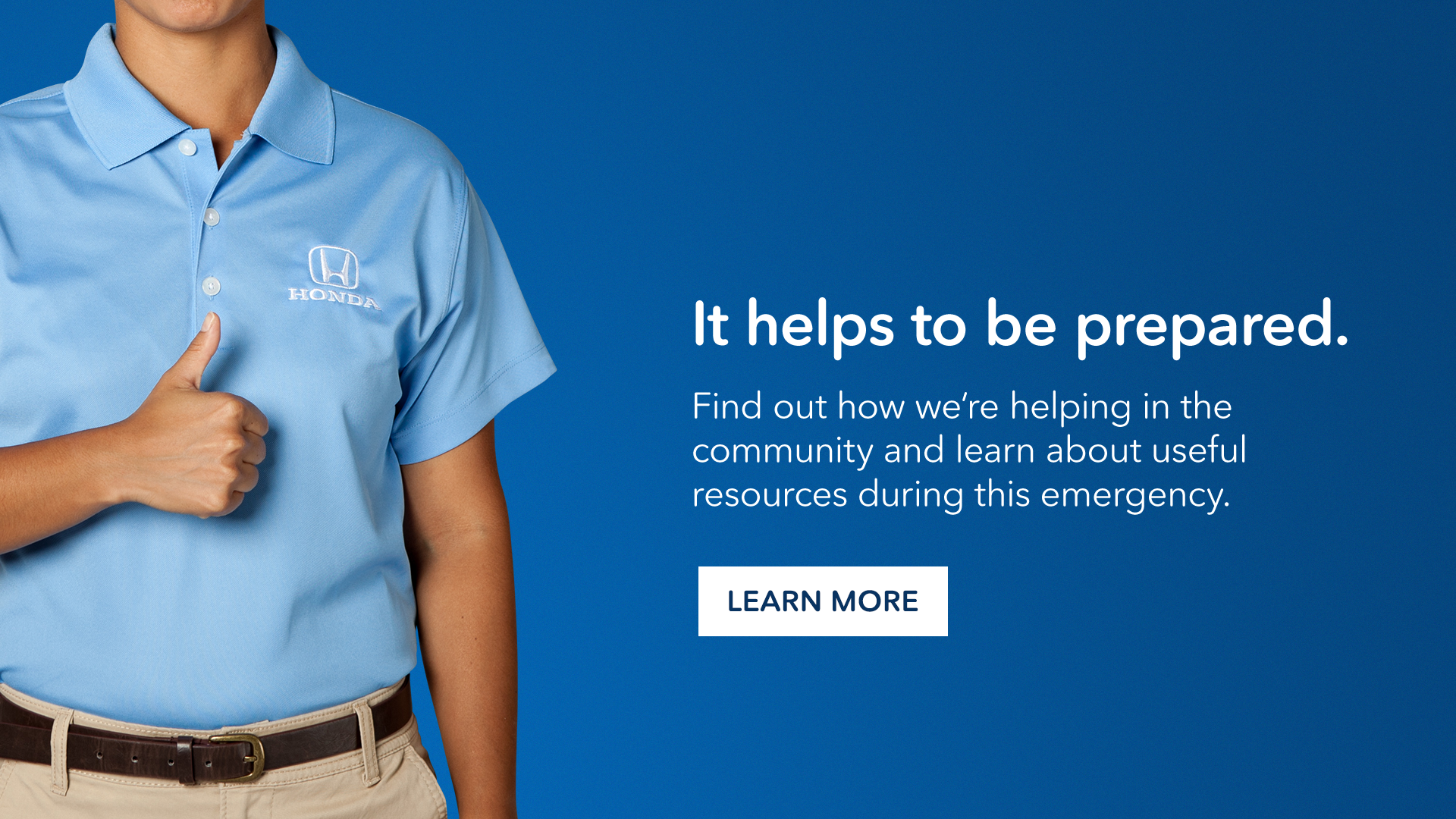 Find out how we're helping in the community during this emergency